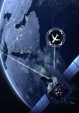Aircraft tracking and flight data recovery via satellite constellations