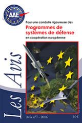 No.7 - A Robust management system for joint European defence programmes